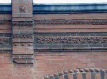 Fancy brick ornamentation and patterns