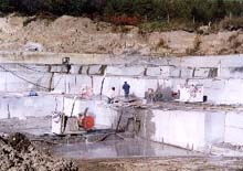 Ducharme Marble Quarry - Used Courtesy of Stone Quarries and Beyond website at http://www.cagenweb.com/~quarries/